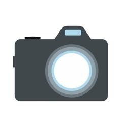Camera flat icon vector