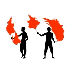FIRE show vector image