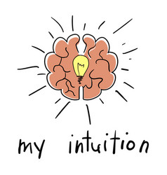 Intuition abstract concept vector