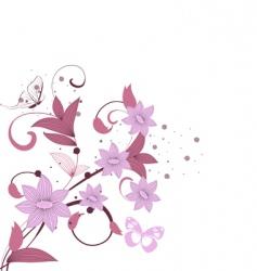 Pattern burgundy vector