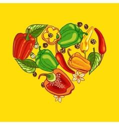 Pepper Heart vector image vector image