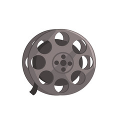 Film reel video tape sign vector