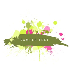 Abstract grunge spots vector