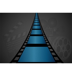 Film strip design vector image