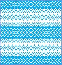 Baby blue seam pattern vector