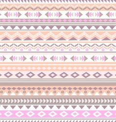 pastel tribal stripe vector image