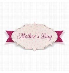 Mothers day festive banner template vector