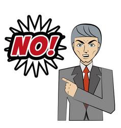 comic man no bubble speech pop art vector image