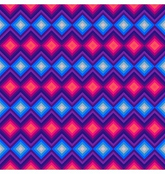 Modern crystal zig zag and rhombus seamless vector
