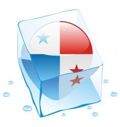 Panama flag vector image vector image