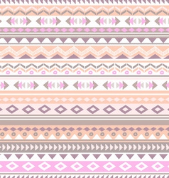 Pastel tribal stripe vector