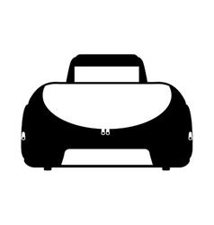 Sport bag gym icon vector