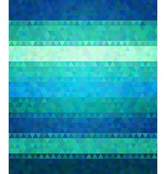Modern flat style background cold green and blue vector