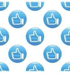 Like sign pattern vector image