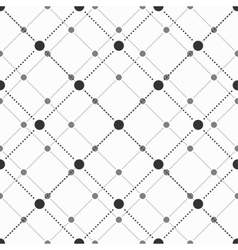 Geometric simple seamless pattern vector