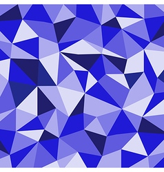 Blue ice mosaic background creative business desi vector