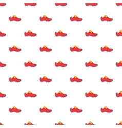 Football boots pattern cartoon style vector