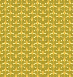 Pattern yellow retro abstract vector