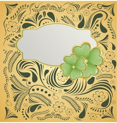 Background for st patrick day vector