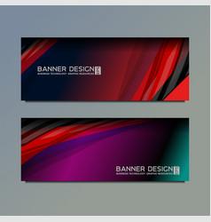 Business web banner vector