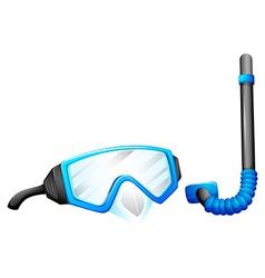 Snorkeling devices vector