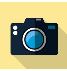 Photography camera graphic icon vector