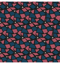 Seamless pattern Rhombus background repeating vector image vector image