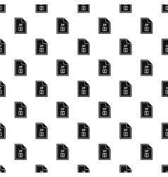 Zip file pattern simple style vector