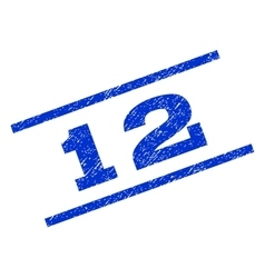 12 Watermark Stamp vector image