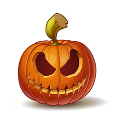 Pumpkins scary 1 vector