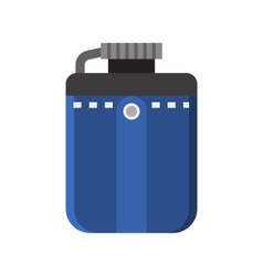 Tourist Flask Icon vector image vector image
