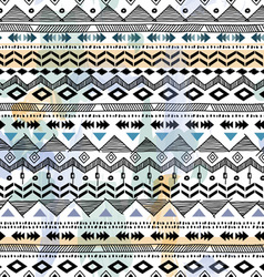 tribal sketch background vector image