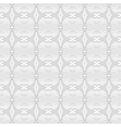 White geometry abstract seamless background vector