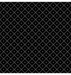 Polka dot seamless pattern rhombus ornament 3 vector