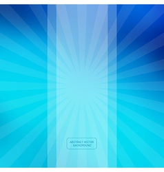Blue Abstract Blurred Background vector image vector image