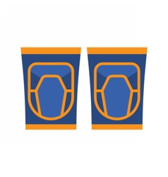 Knee Pads Icon vector image