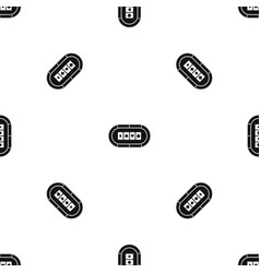 poker table pattern seamless black vector image vector image