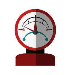 Pressure gauge icon imag vector