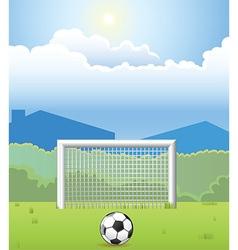 Soccer design elements vector image vector image