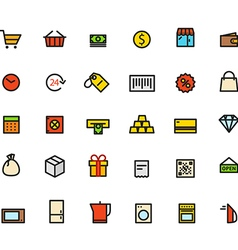 thinshop vector image