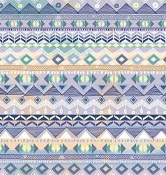 blue pastel tribal stripe vector image