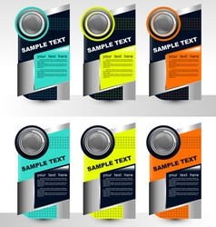 Infographic templates vector