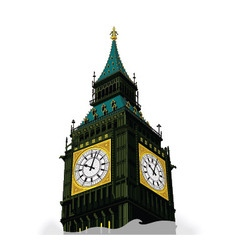 London clock vector