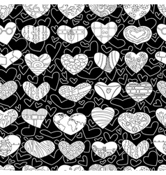 valentines seamless vector image vector image