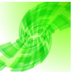 Green digital background for creative design vector