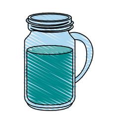 Water jar vector