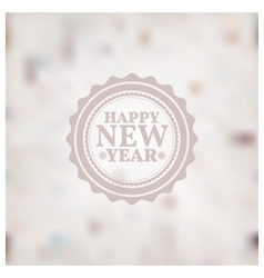 Blurred new year background vector