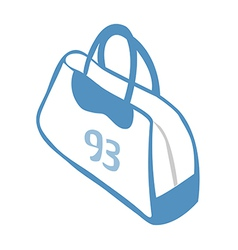 icon bag vector image vector image