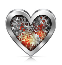 Mechanic Heart vector image
