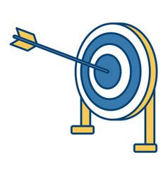 target dartboard symbol vector image